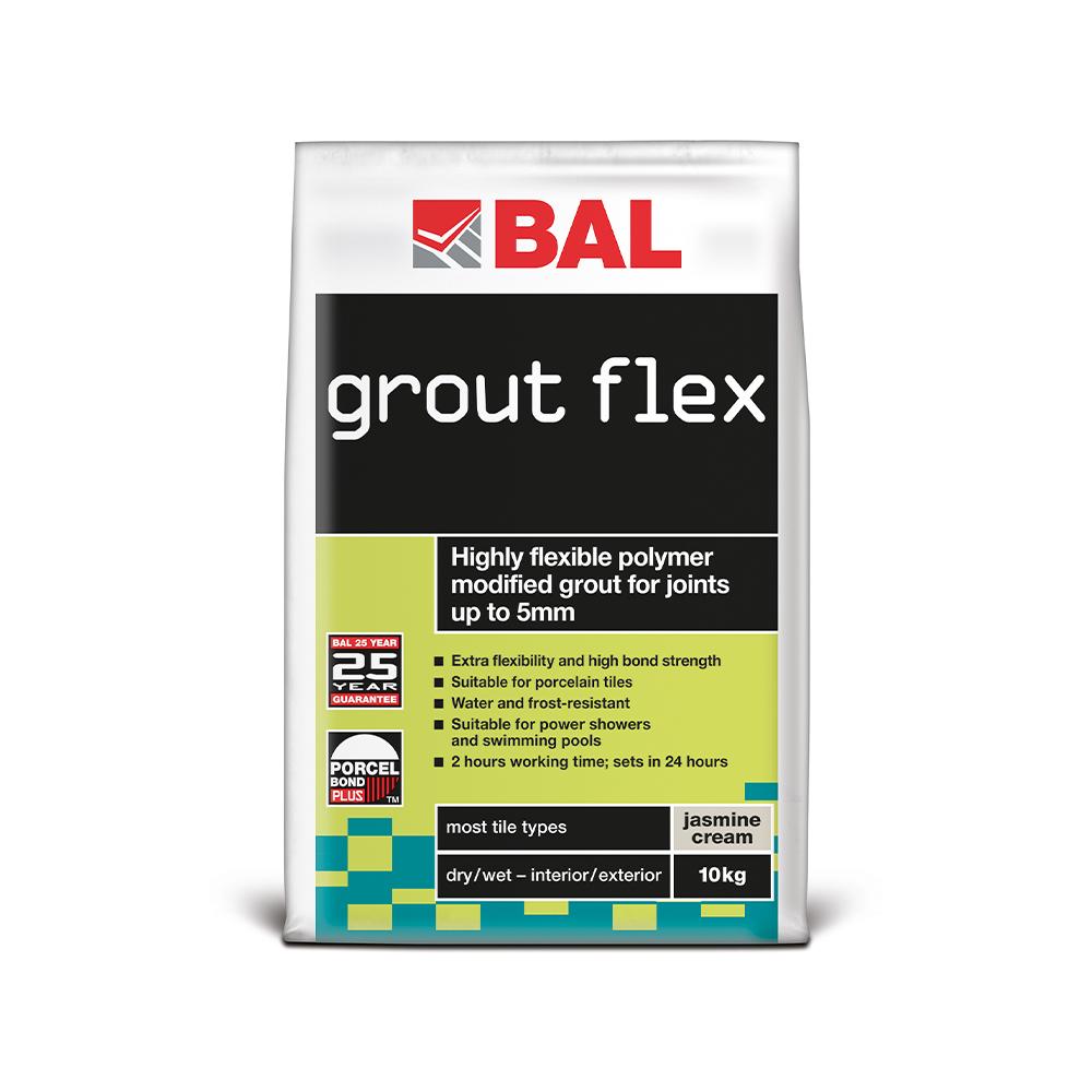 bal grout flex wall tile grout