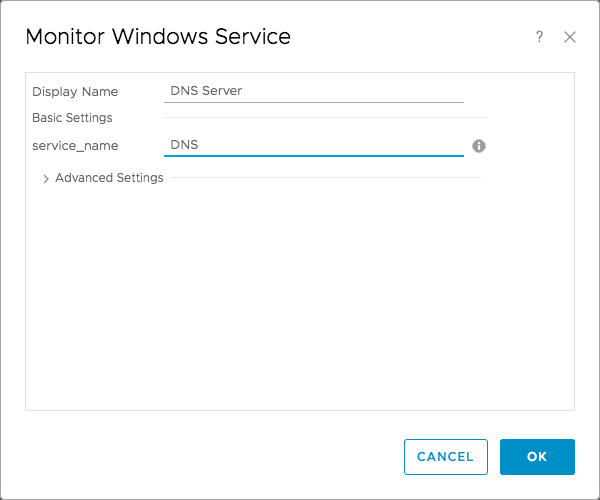 vROps DNS Server