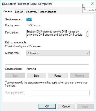 vROps Windows DNS Server