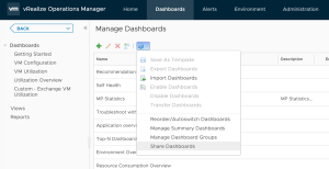 Share Dashboards