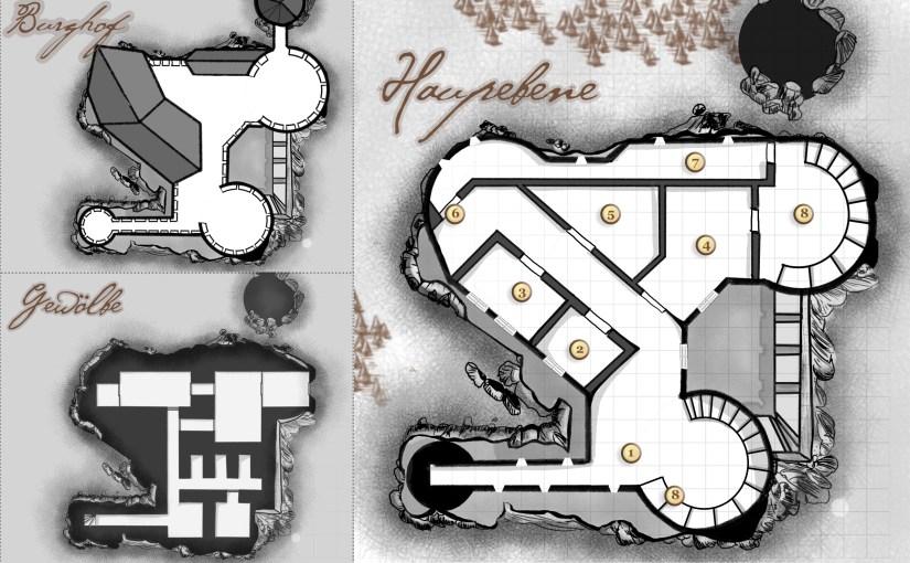 Erste Schritte zum DM: Meine erste Dungeon-Map (Work in Progress)