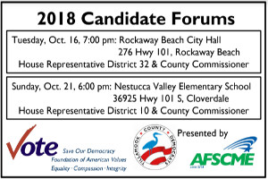 Tillamook County Democrats Candidate Forum