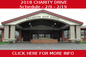 Tillamook High School Charity Drive