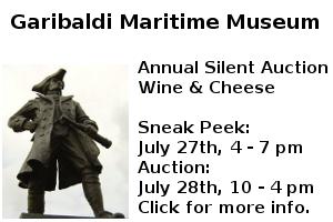 Garibaldi Maritime Museum Silent Auction