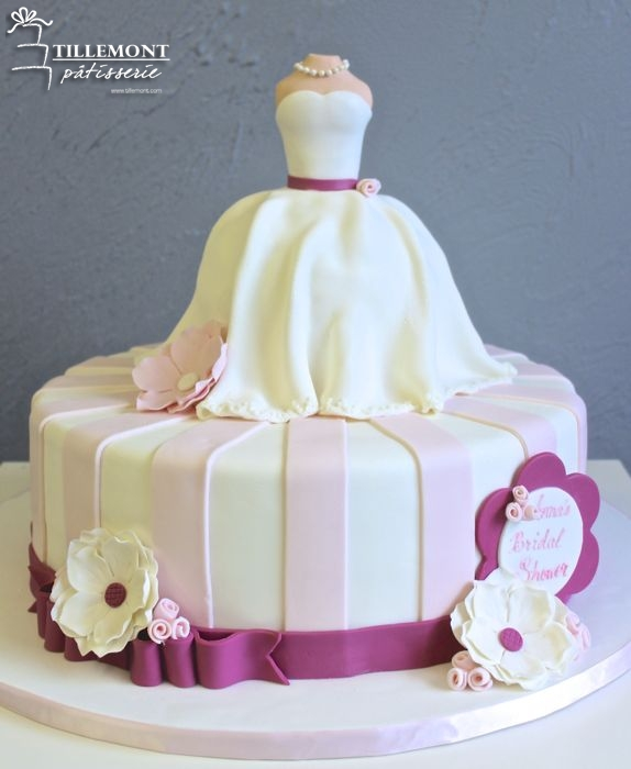 Bridal Shower Cakes  Patisserie Tillemont