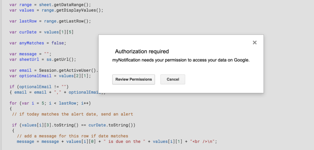 How to Send an Automatic Email Reminder from a Google