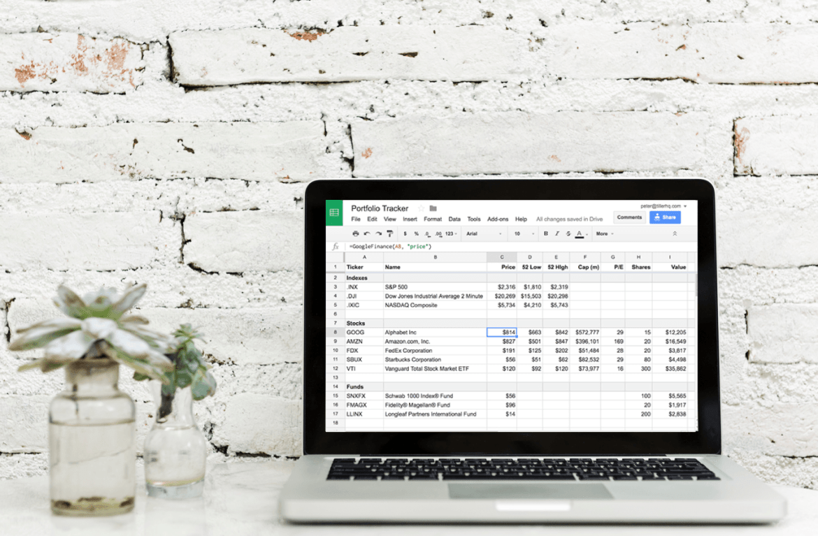 How to use an Investment Spreadsheet