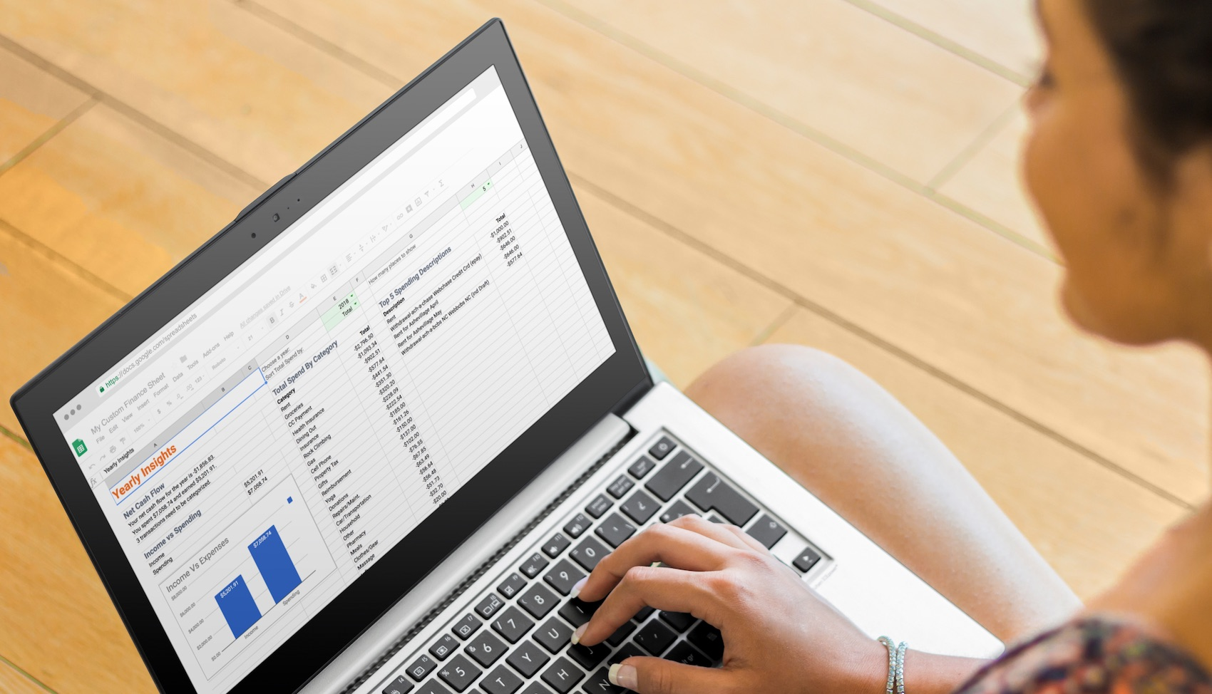 How To Make A Budget In Sheets Step By Step