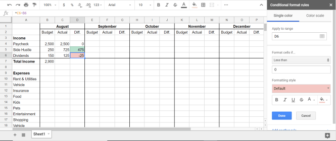 How to Make a Budget in Google Sheets (Step by Step)