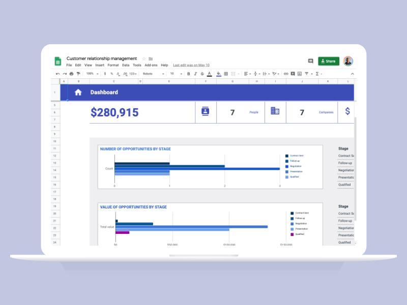 CRM-Google-Sheet-Template