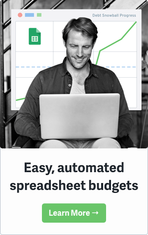 Easy Spreadsheet Budgets