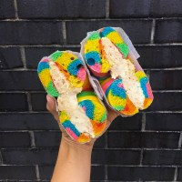 Rainbow Bagel and Rainbow Accessories