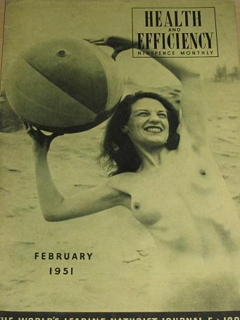 Tilleys Vintage Magazines  HEALTH AND EFFICIENCY magazine