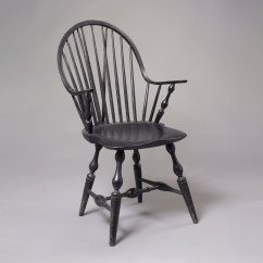 Windsor Chair With Arms Orange Dining Room Chairs Continuous Brace Back Arm  Jeffrey Tillou
