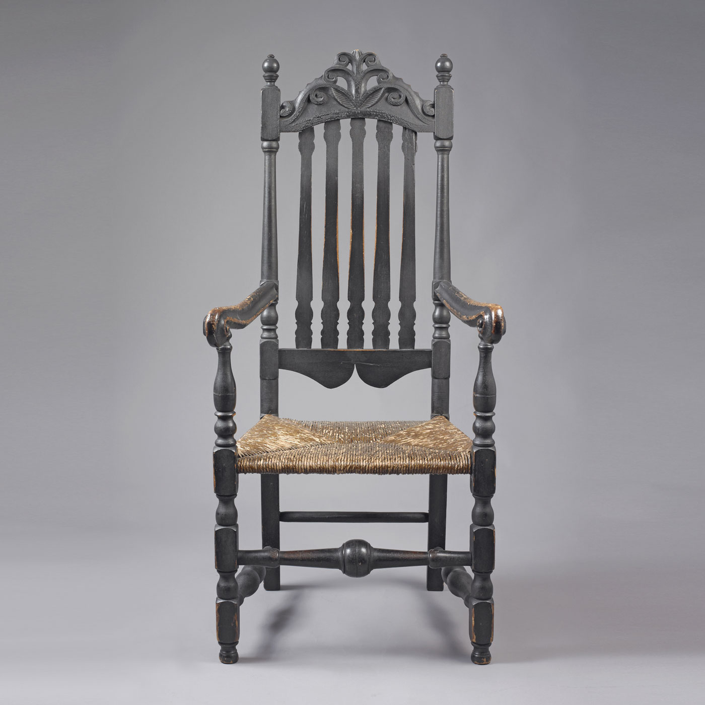 william and mary chair sheepskin throws for chairs bannister back arm  jeffrey tillou