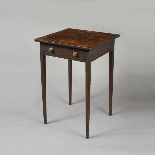 Hepplewhite Work Table Jeffrey Tillou Antiques