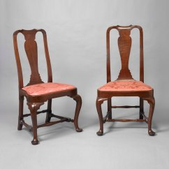 Queen Anne Dining Chair E1038 Transport Pair Of Balloon Seat Side Chairs  Jeffrey