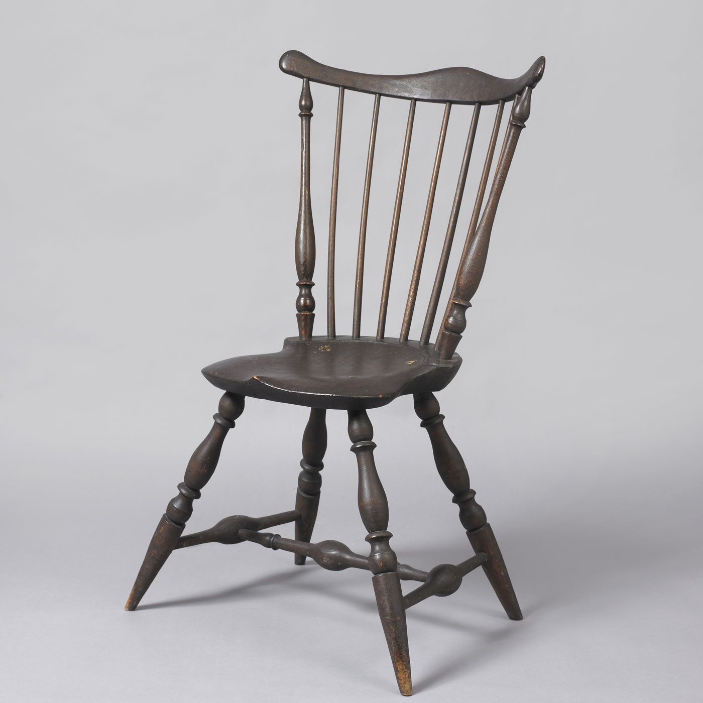 Fan Back Windsor Side Chair  Jeffrey Tillou Antiques