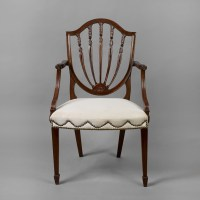 Antique Shield Back Chairs | Antique Furniture