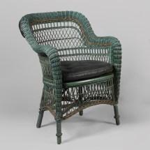 Set Of Four Wicker Chairs Ypsilanti Furniture . Iona