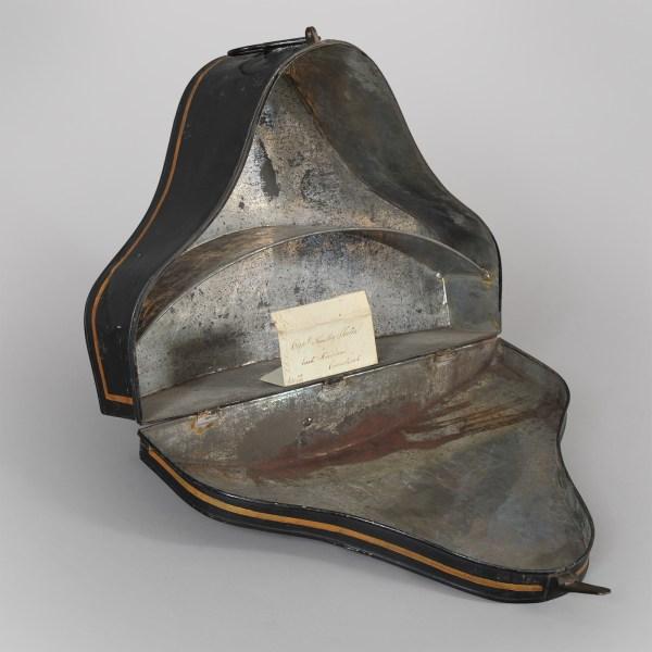 Rare Naval Captains Hat Box Jeffrey Tillou Antiques