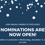 Awards of Excellence Call for Nominations 2020