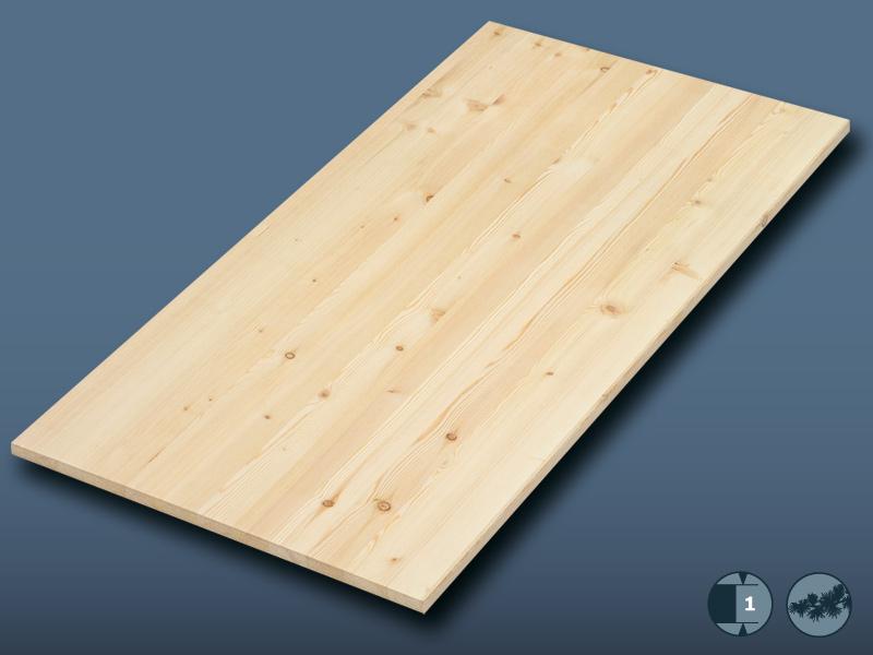 TILLY Pannello monostrato in legno di conifera Larice