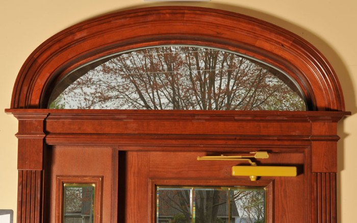 Arched Brick Molding