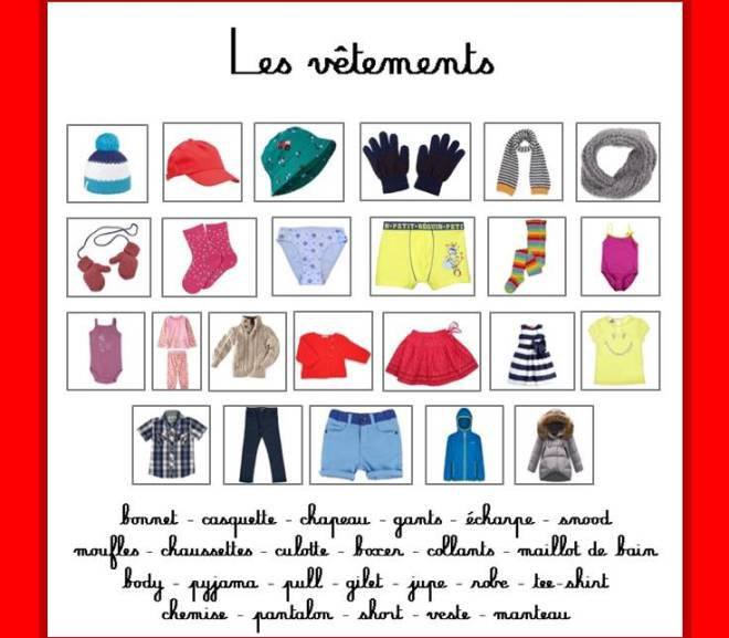 Images classifiées : les vêtements