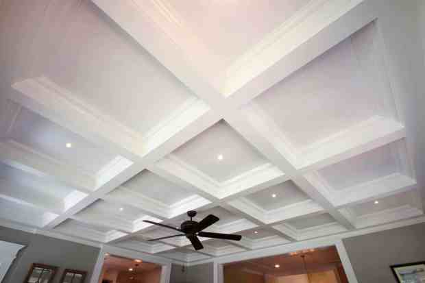 Coffered Ceiling Panels