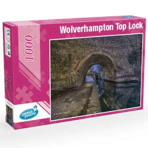 Wolverhampton Top Lock 1,000pc Jigsaw puzzle.