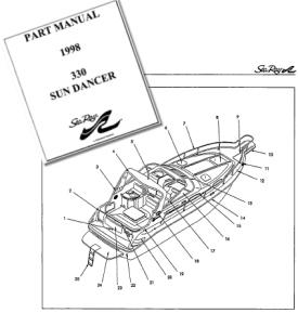 Specs on the Sea Ray 330 Sundancer Tick Tock Too