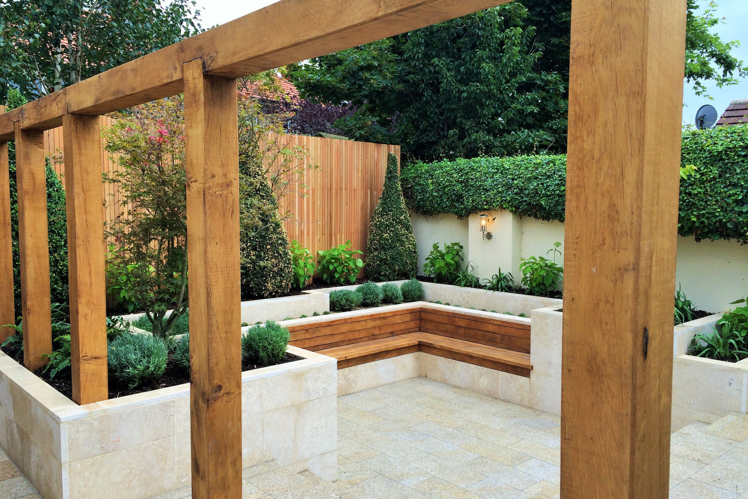 Stylish Sanctuary Garden In Glasnevin Dublin Tim Austen