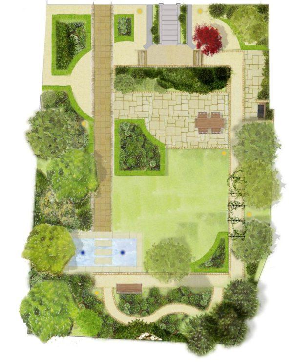 plan garden design tim austen
