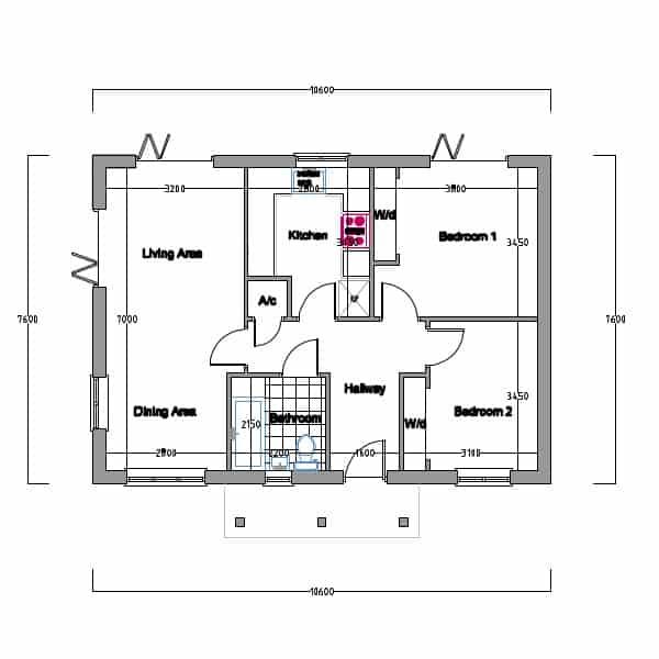 Timber Frame House Kit 10