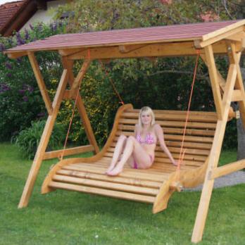 Hollywoodschaukel  Schaukel fr Garten  Timber Moves