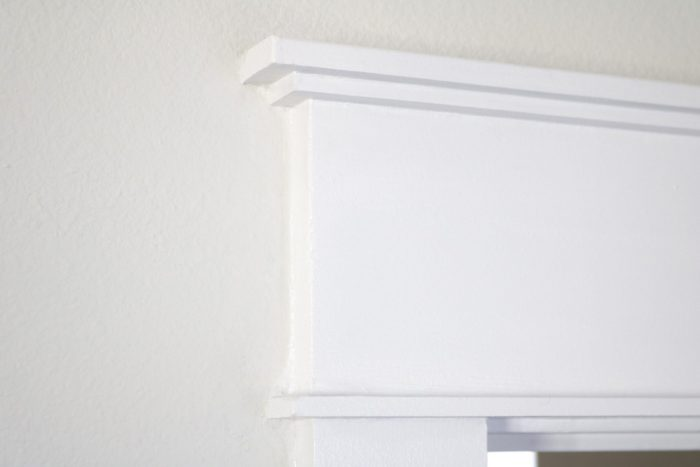 How I upgraded my builder-grade door casings to a craftsman style!