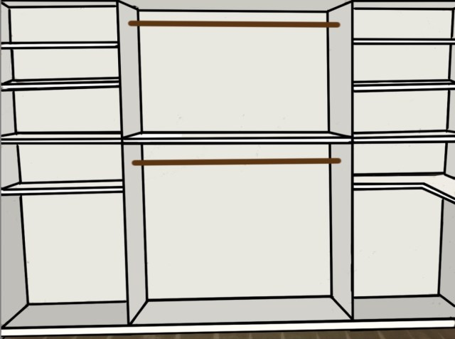 My plans for a DIY custom closet in my master bedroom!