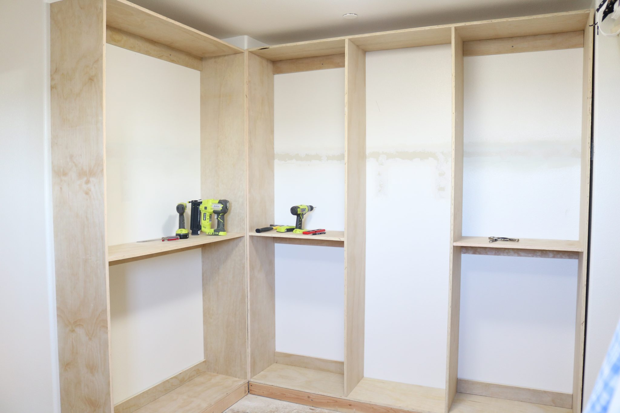 DIY Custom Master Closet: Part 2, The Build