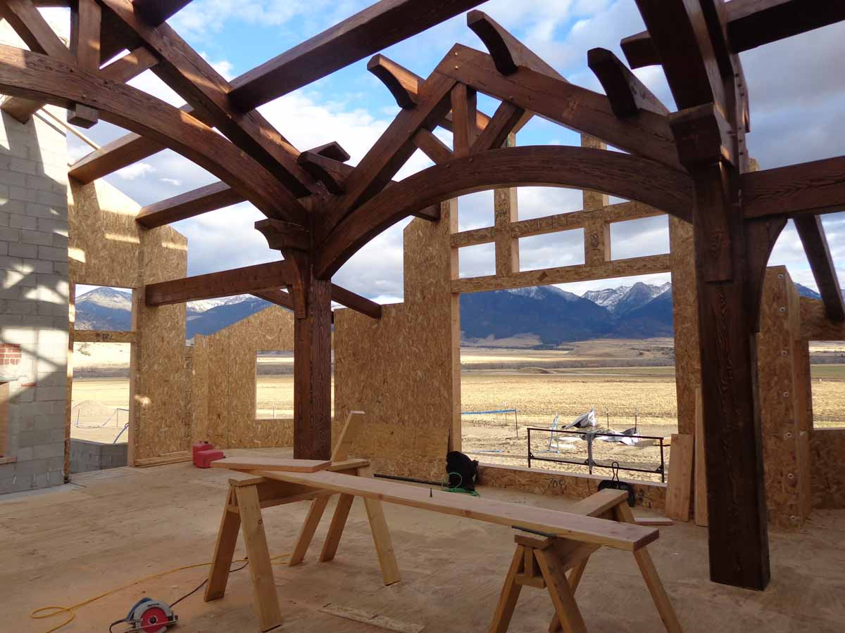 Timber Frame Homes Timberbuilt