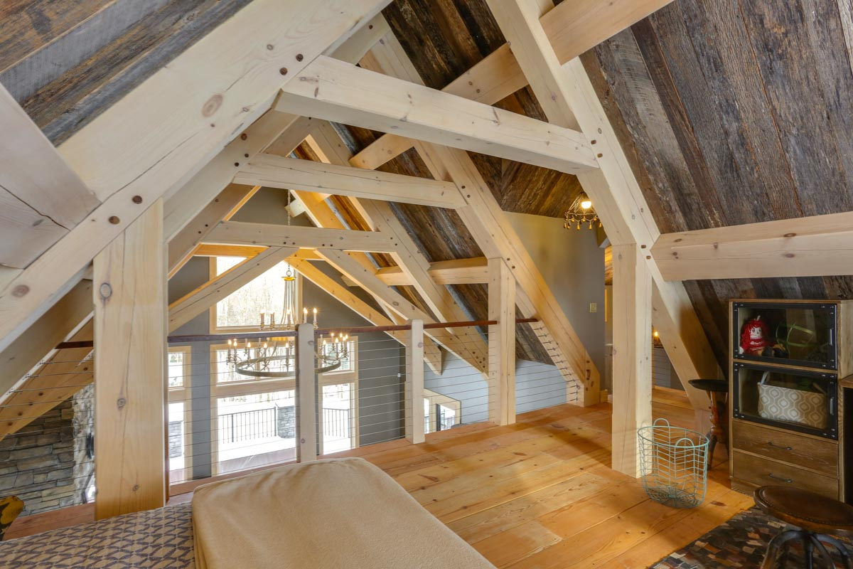 Timber Frame Home Design Marshal Timberbuilt