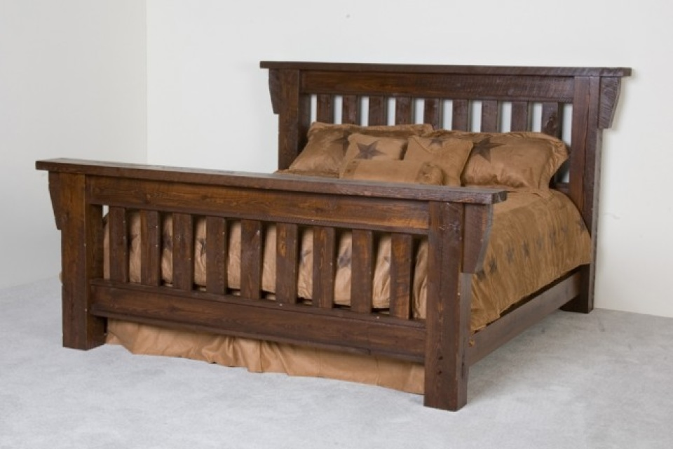 sofa bed timber slats lounge barn wood (available in king, queen, full, and twin)