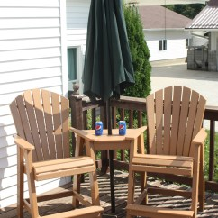 Tete A Chair Outdoor Ergo Chairs For Office Poly Wood Balcony Or