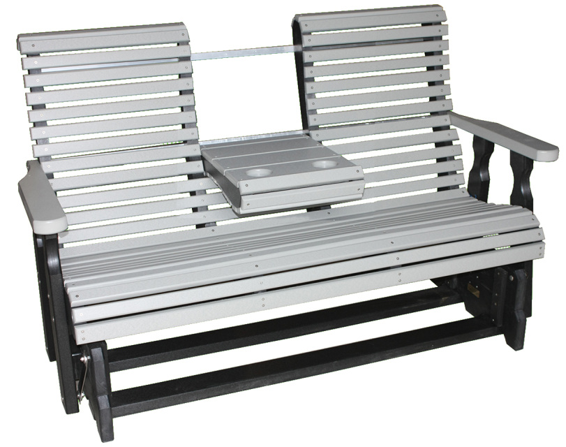 5 Foot Rollback Glider or Swing with Console