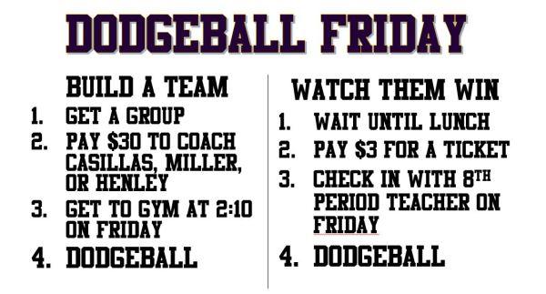 dodgeball friday
