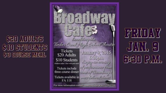 broadway cafe tomorrow