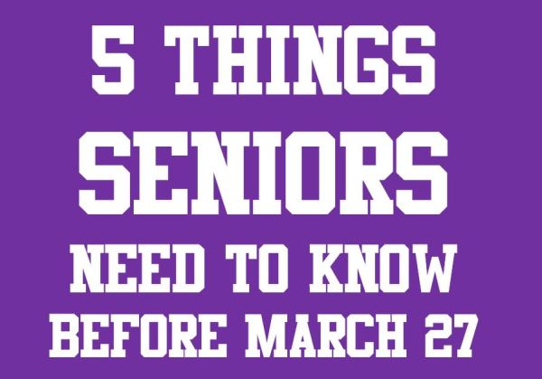 5 things seniors need