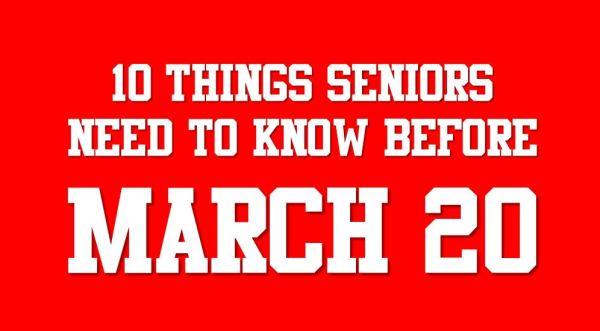 march 20 seniors