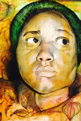 Timber Creek art student Dianna Laurent's Gold Seal-winning artwork.