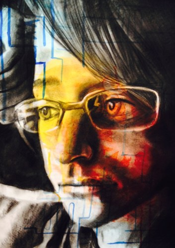 Timber Creek art student Hannah Boggs' Gold Seal-winning artwork.